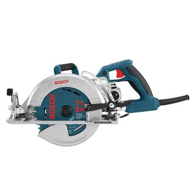 bosch worm drive saw review
