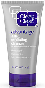clean and clear 10 benzoyl peroxide face wash reviews