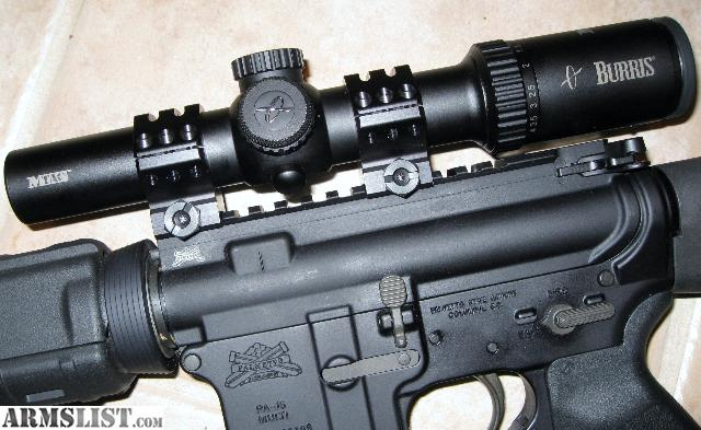 burris mtac 1 4 review