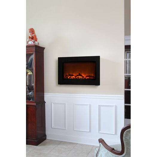 wall mount electric fireplace reviews