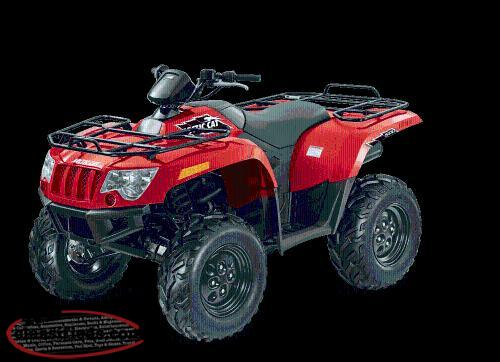 2017 arctic cat 500 atv review