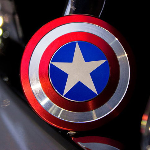 captain america fidget spinner review