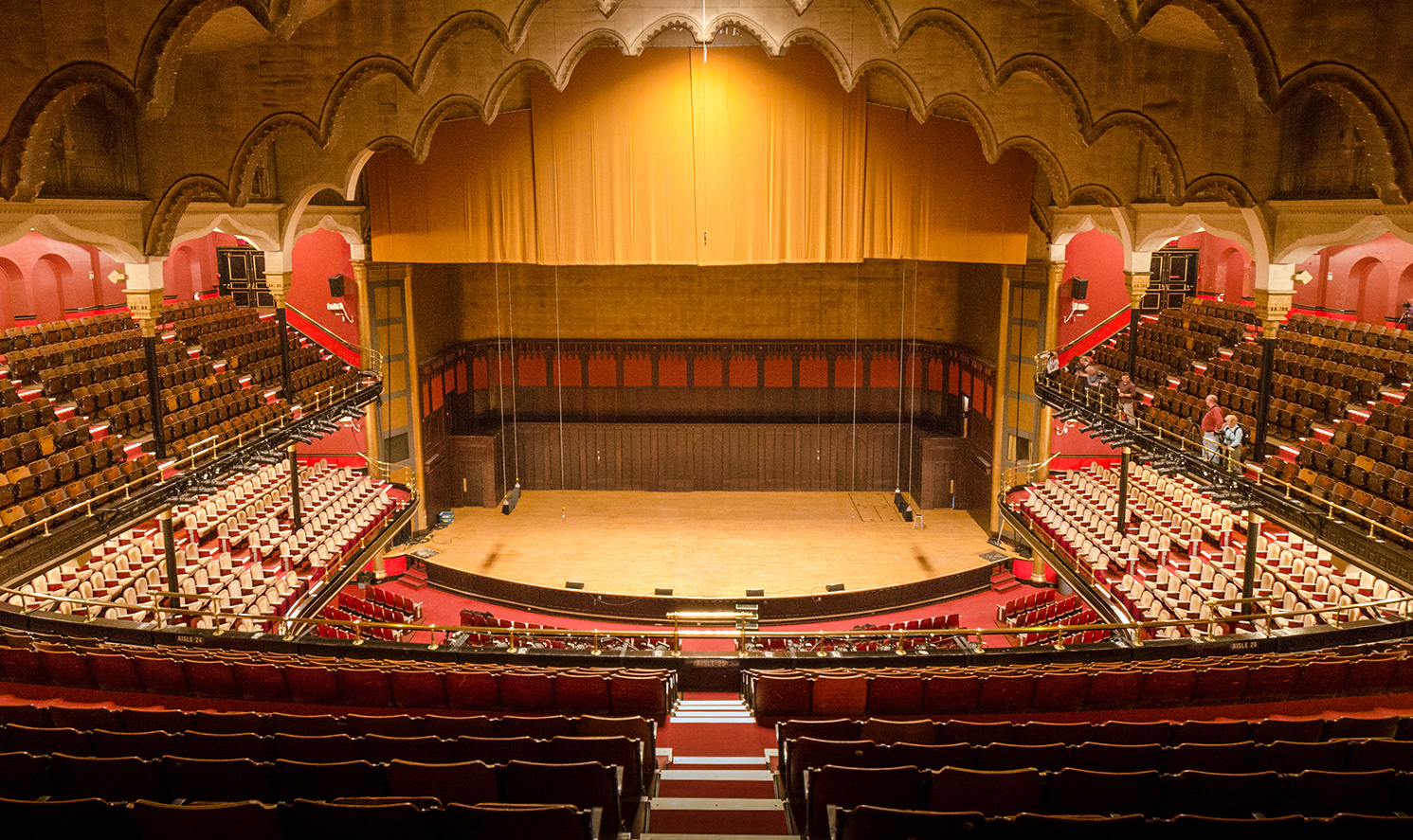 massey hall gallery seats review