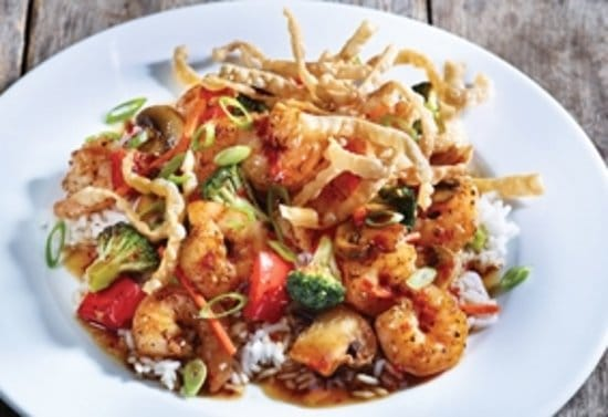 applebees shrimp wonton stir fry review