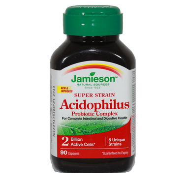 jamieson acidophilus probiotic complex review