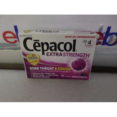cepacol extra strength sore throat and cough reviews