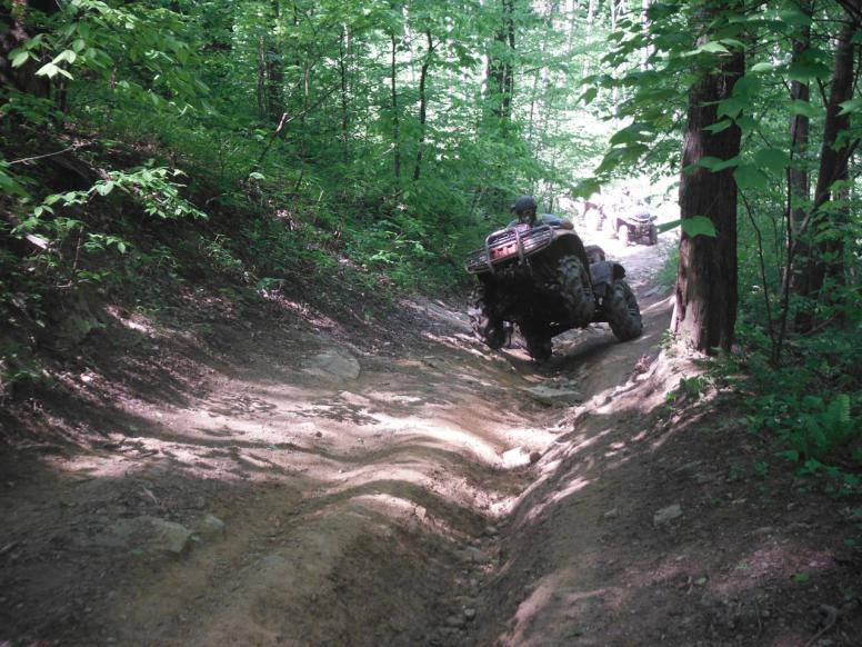 hatfield and mccoy atv trail reviews