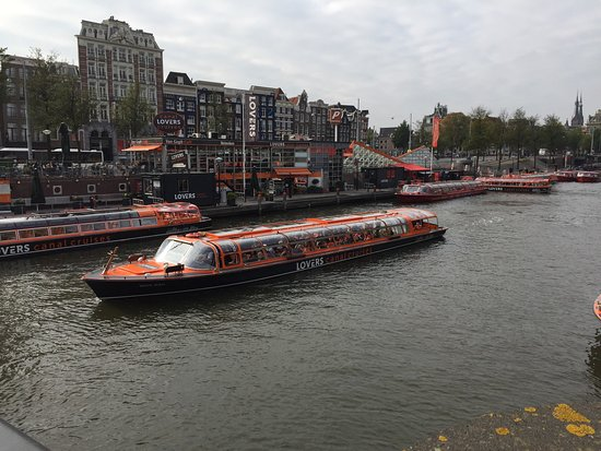 lovers canal cruise amsterdam review