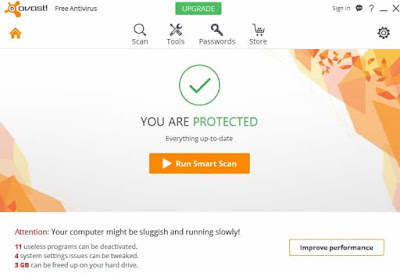 avast free antivirus 2017 review