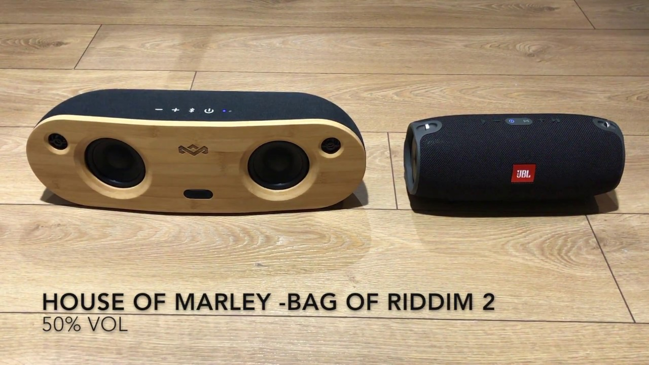 house of marley bag of riddim 2 review