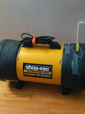 shop vac air cleaner review