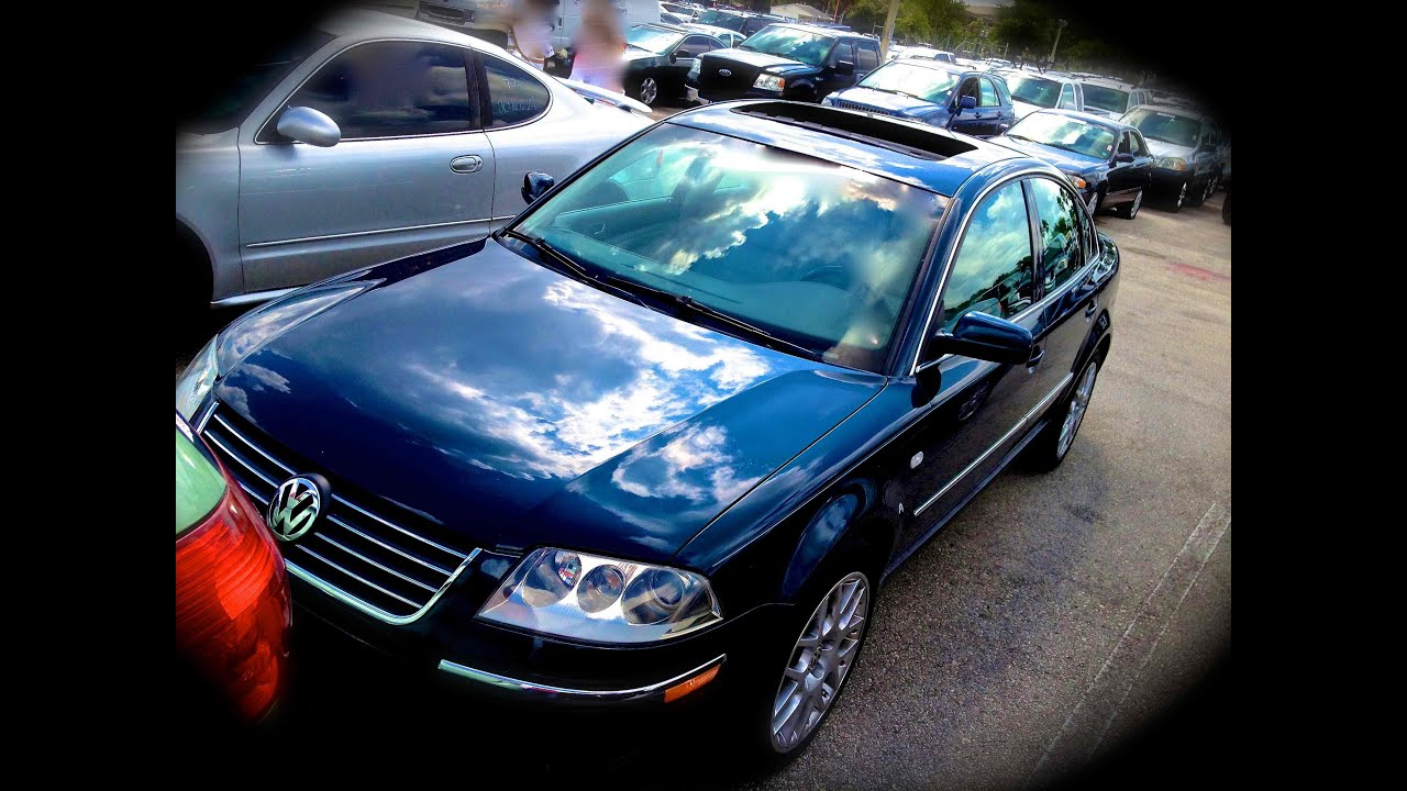 2003 volkswagen passat w8 review