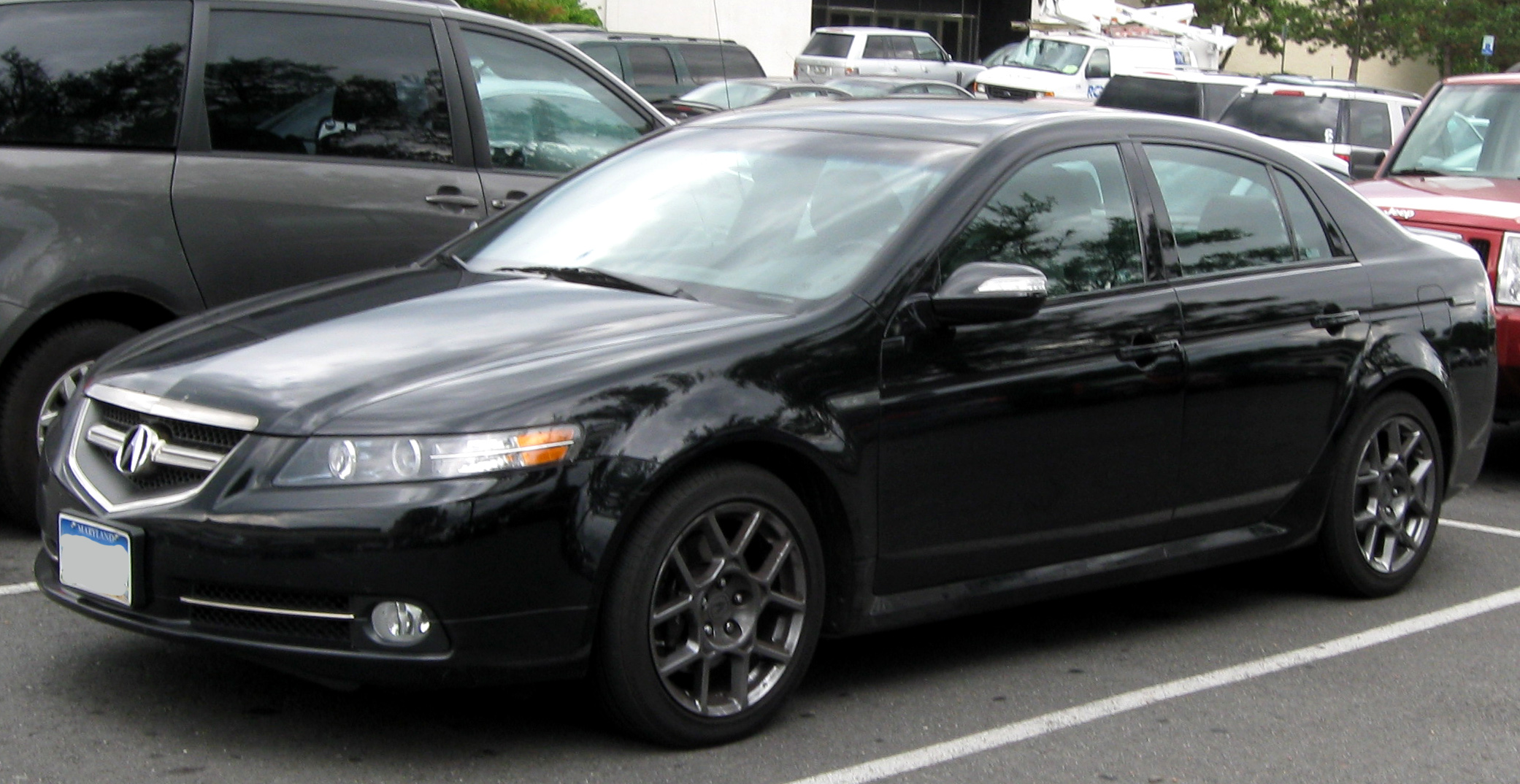 2008 tl type s review