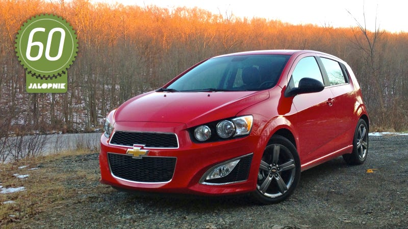 2013 chevy sonic hatchback review