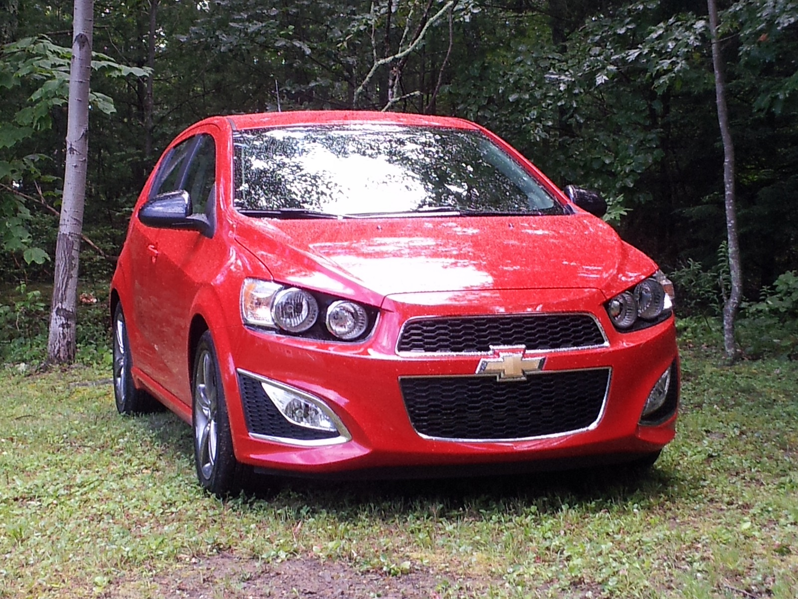2013 chevy sonic rs review