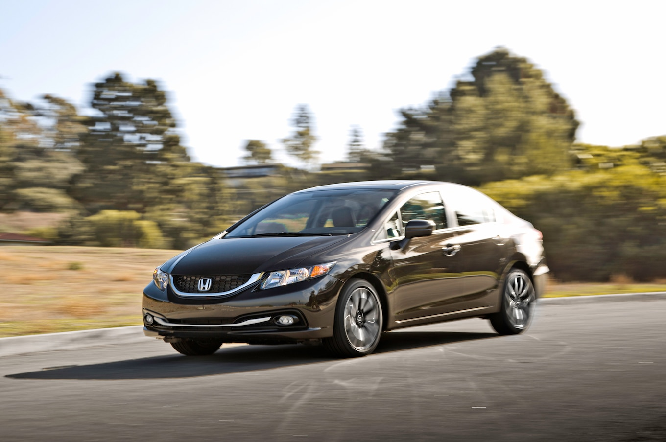 2014 honda civic lx reviews