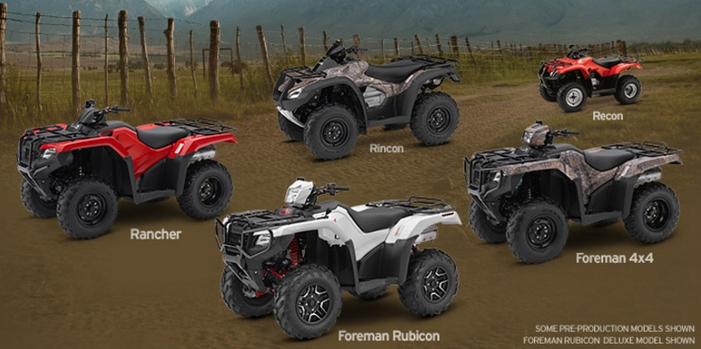 2017 honda fourtrax recon review