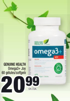 genuine health omega 3 joy reviews