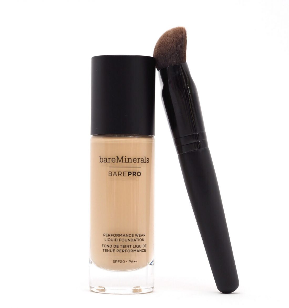 bare minerals foundation brush review