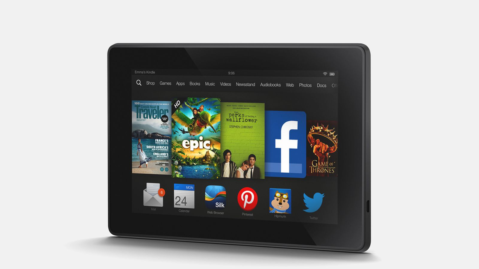 amazon kindle fire hd tablet review