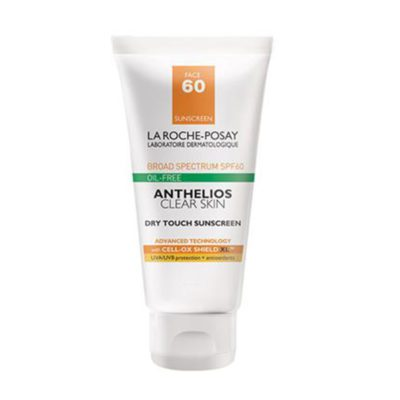 anthelios clear skin dry touch review