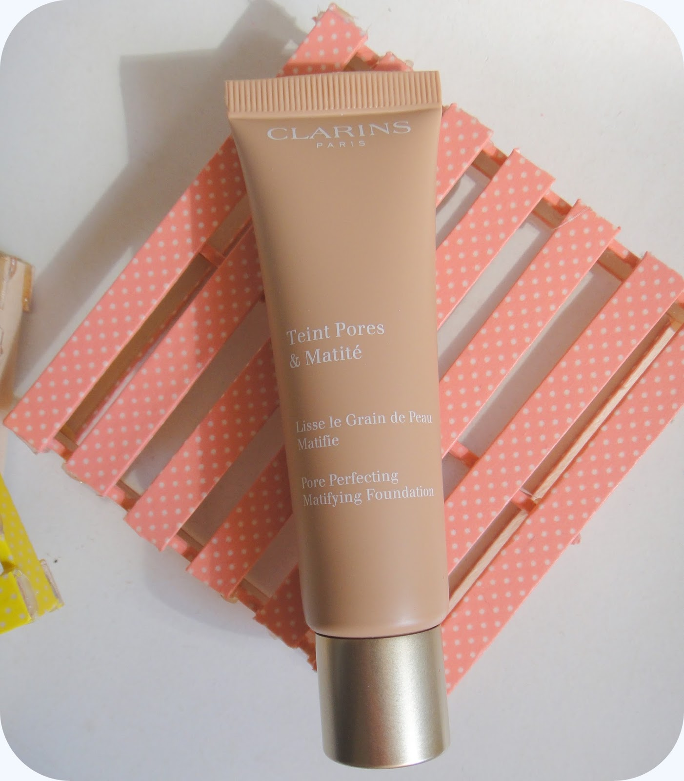 clarins teint pores and matite review