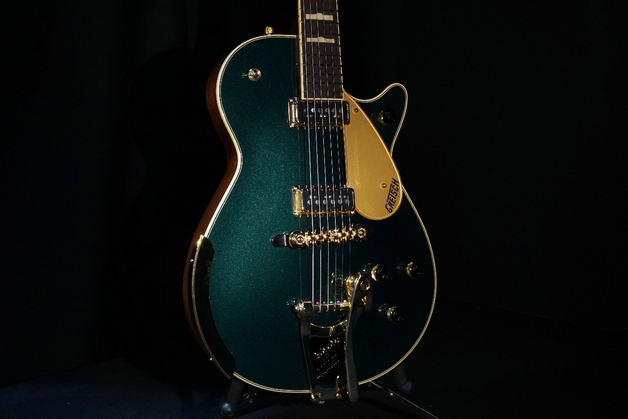 gretsch duo jet cadillac green review