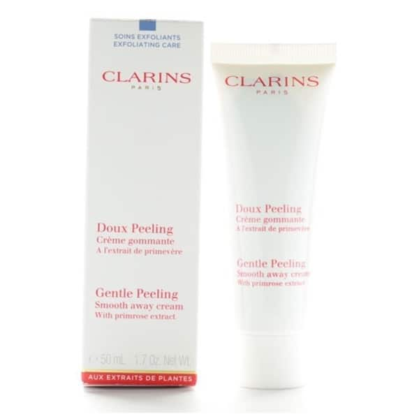 clarins gentle peeling smooth away cream review