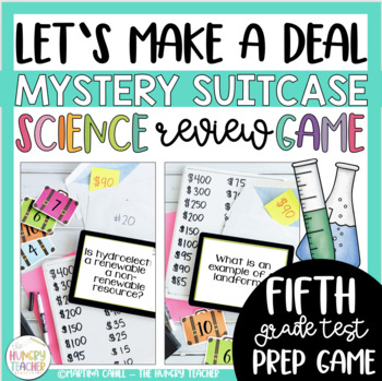 6th grade science review games