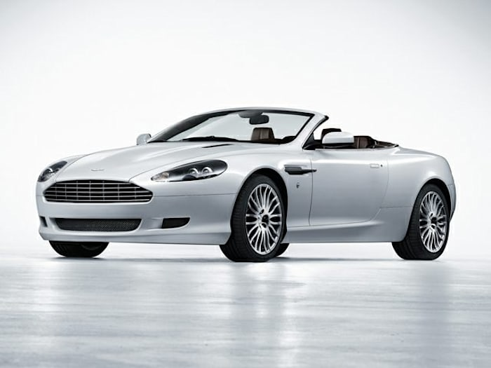 2007 aston martin db9 volante review