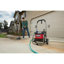black max 1800 psi pressure washer reviews