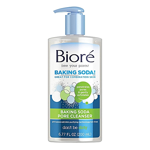 biore baking soda acne cleanser review