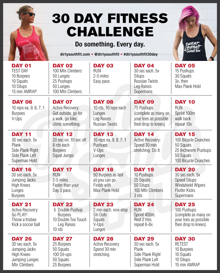 30 day fitness challenges reviews