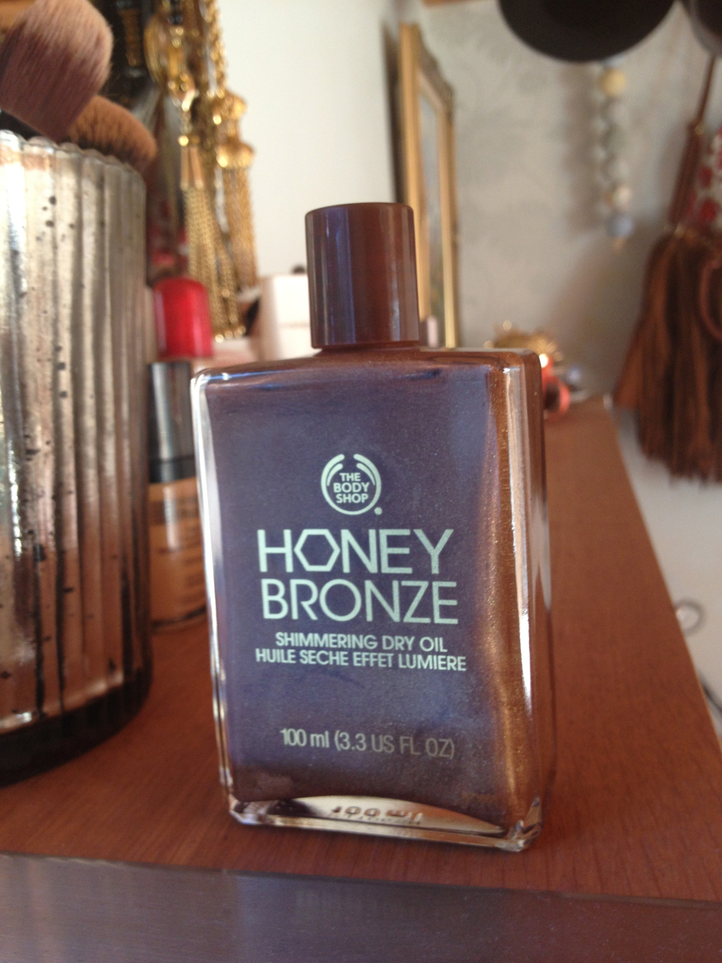 honey bronze shimmering dry oil reviews