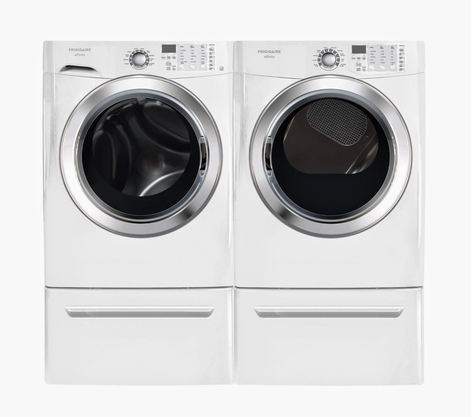 frigidaire affinity front load washer and dryer reviews