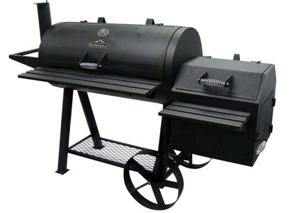 gas charcoal smoker combo grill reviews