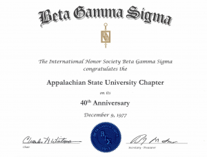 beta gamma sigma honor society reviews
