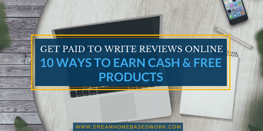 get paid to write reviews online