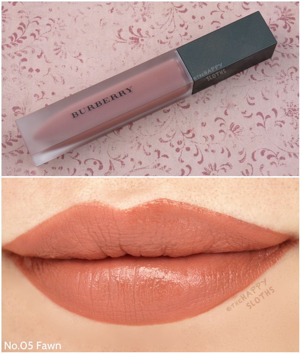 burberry lip velvet lipstick review
