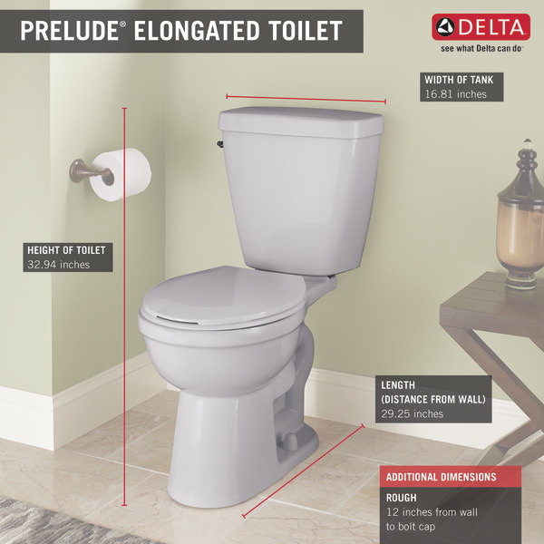 delta prelude elongated toilet reviews