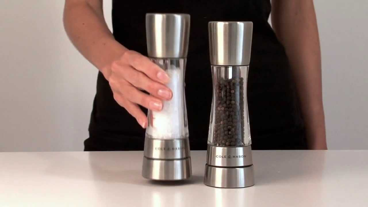 cole and mason salt and pepper mills reviews