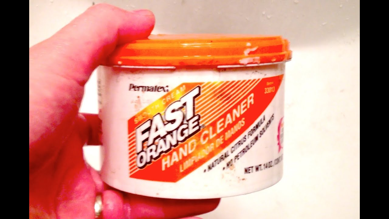 fast orange hand cleaner review