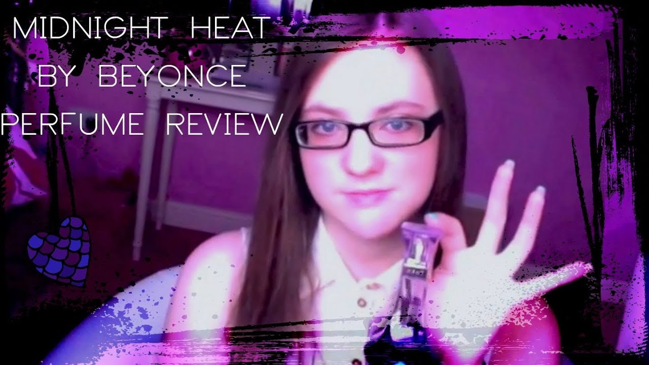 beyonce midnight heat perfume review