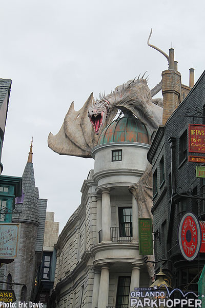 harry potter world diagon alley review