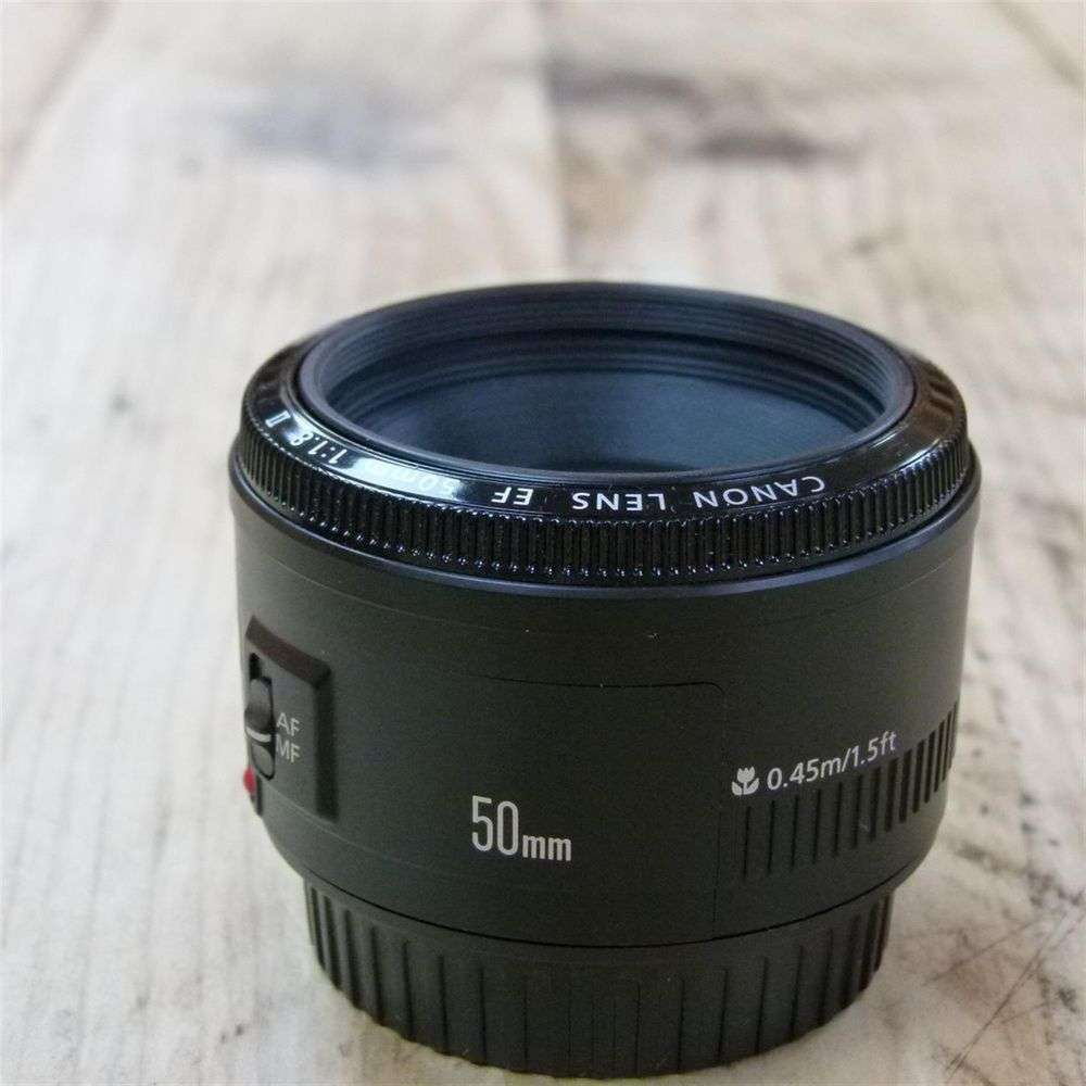 canon ef 50mm f1 8 ii lens review