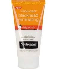 visibly clear blackhead eliminating daily scrub review