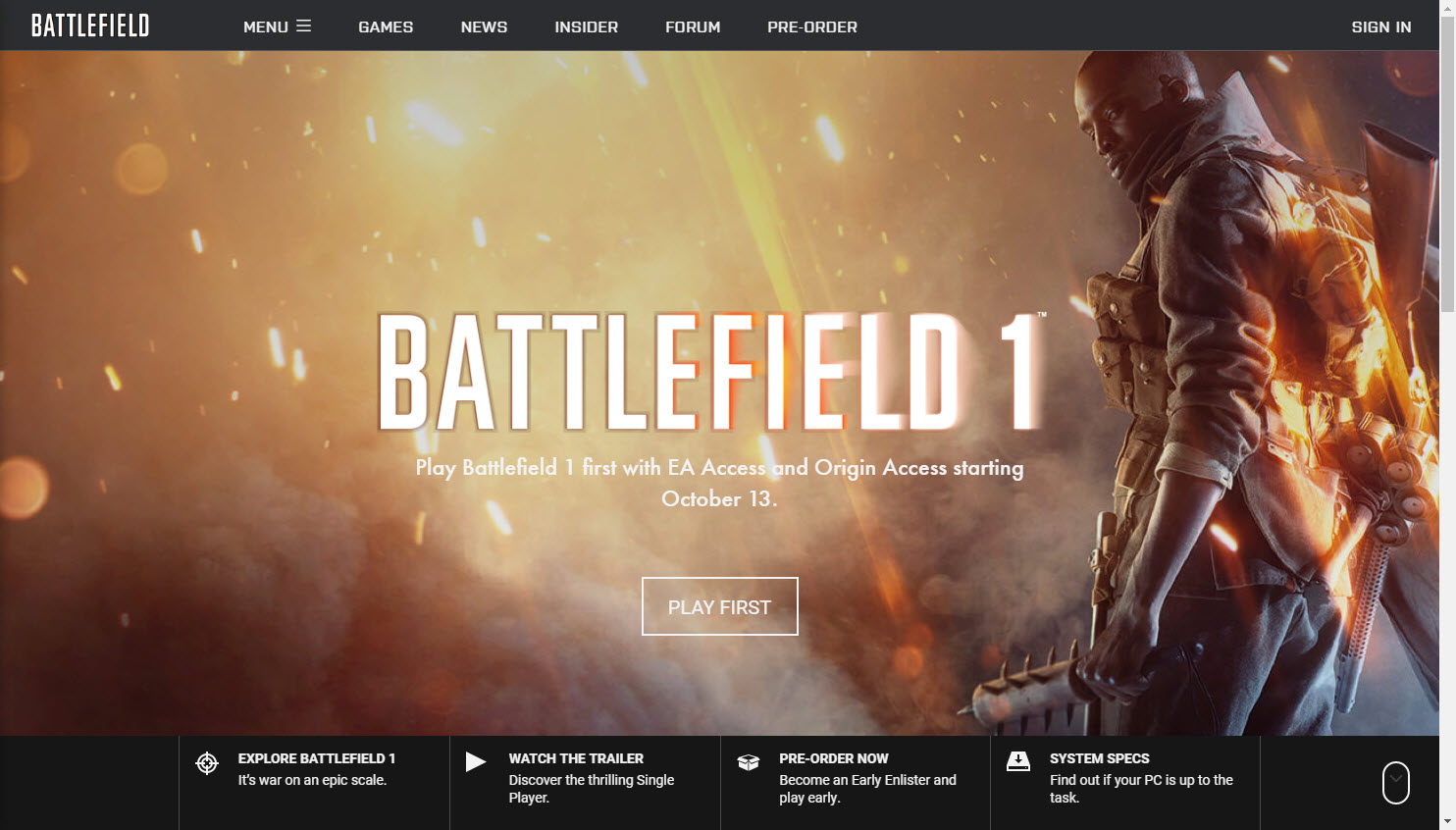 battlefield 1 early enlister deluxe edition review