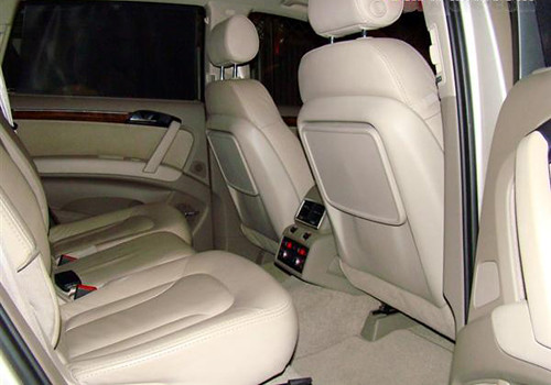 audi q7 3rd row seat review