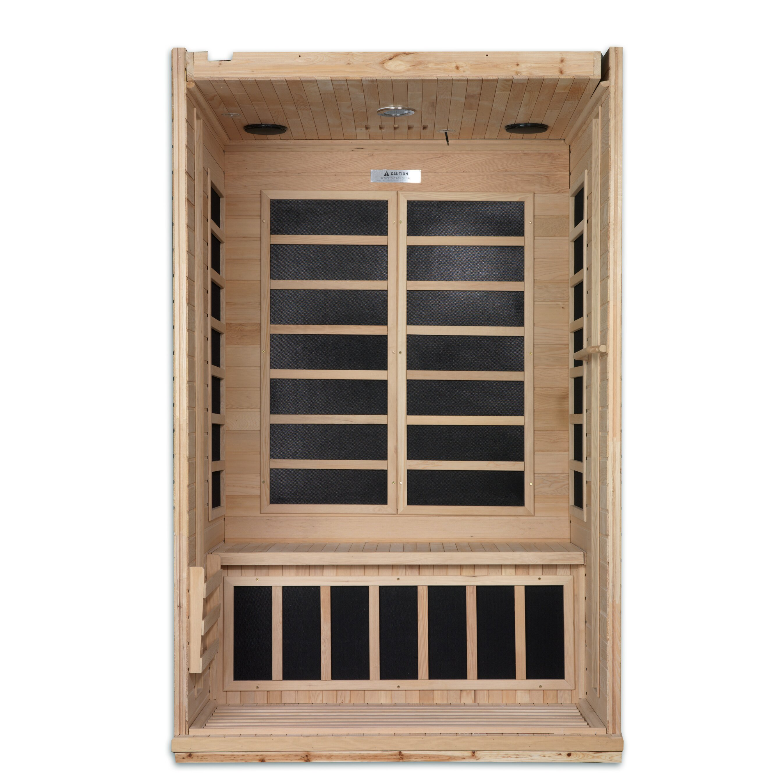 heilsa two person infrared sauna review