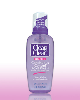 clean and clear acne face wash review